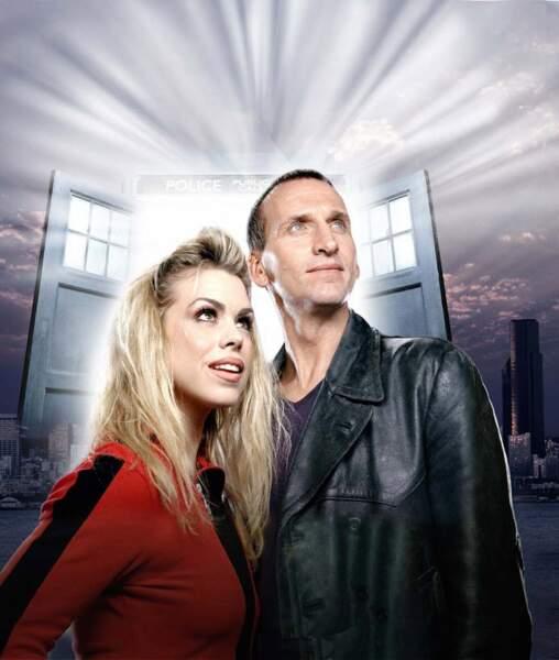 Retour de la série à la télé avec Christopher Eccleston (9ème Doctor Who) accompagné de Billie Piper (Rose Tyler)