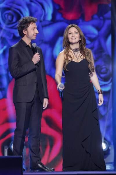Stéphane Bern et Hélène Segara