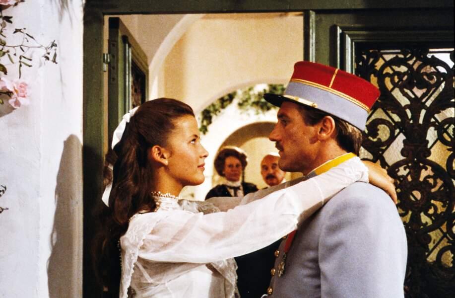 Avec Sophie Marceau dans Fort Saganne (1984) d'Alain Corneau