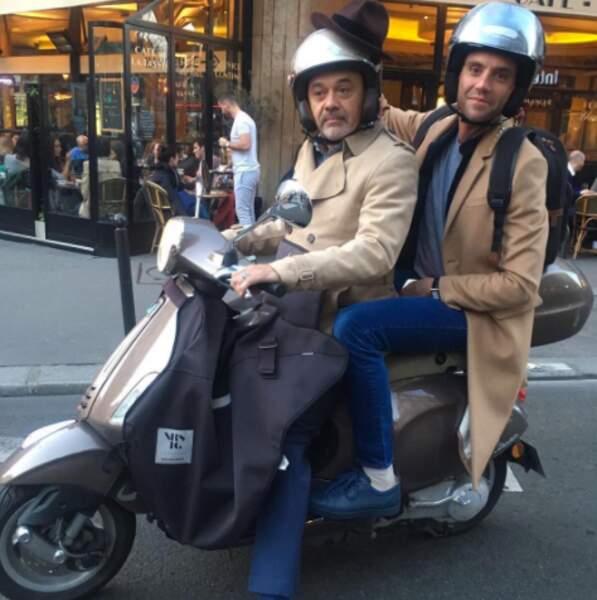 Tranquille, Mika s'est fait conduire par Christian Louboutin. Rien que ça.
