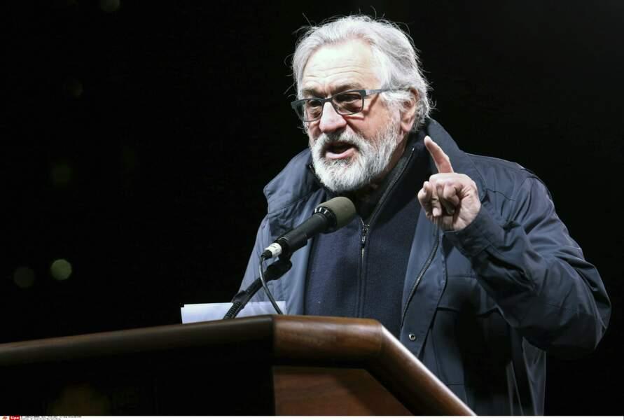 Parmi elles figuraient Robert De Niro…