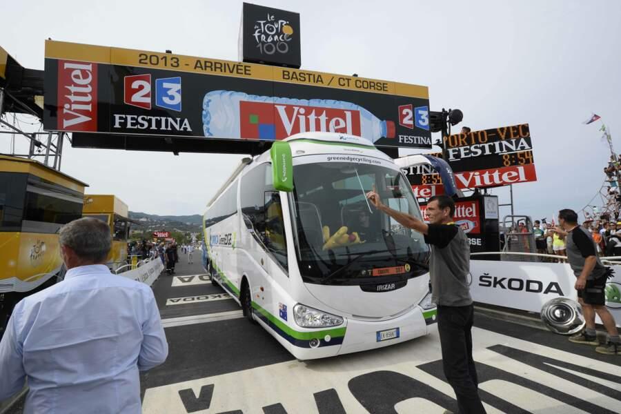 Erreur d'appréciation pour le bus d'Orica GreenEdge
