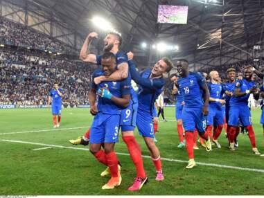 Euro 2016 : les people et les femmes des joueurs derrière les Bleus lors de la demi-finale France-Allemagne