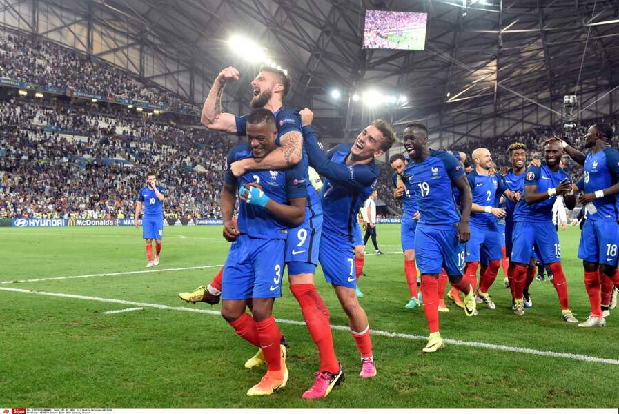 La France est en finale de cet Euro 2016 !