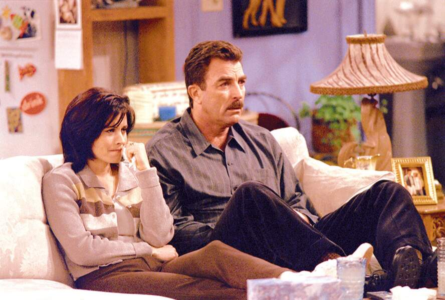 Tom Selleck, anciennement Magnum, jouait Richard, le premier grand amour de Monica.