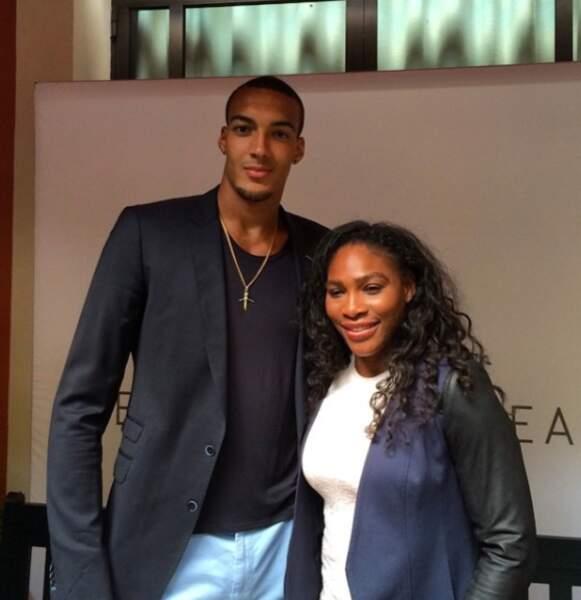 Elle est tout de même très sympa Serena Williams !