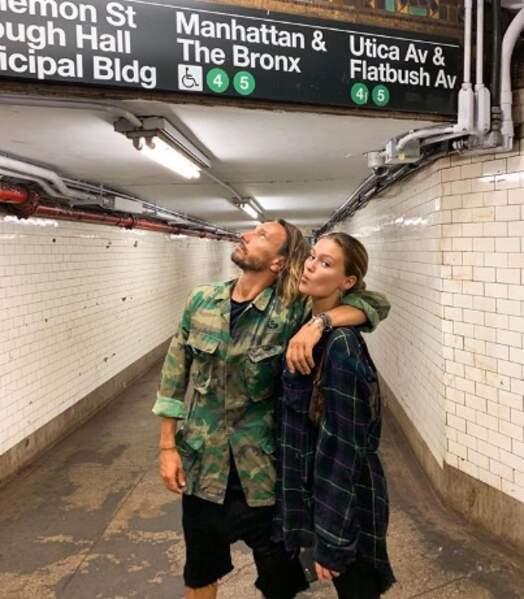 Bob Sinclar et sa fille Paloma sont bien arrivés à New York.