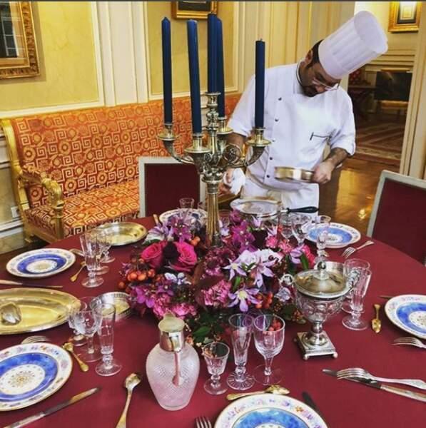 De quoi faire de magnifiques festins dans son palais Vivienne à Paris