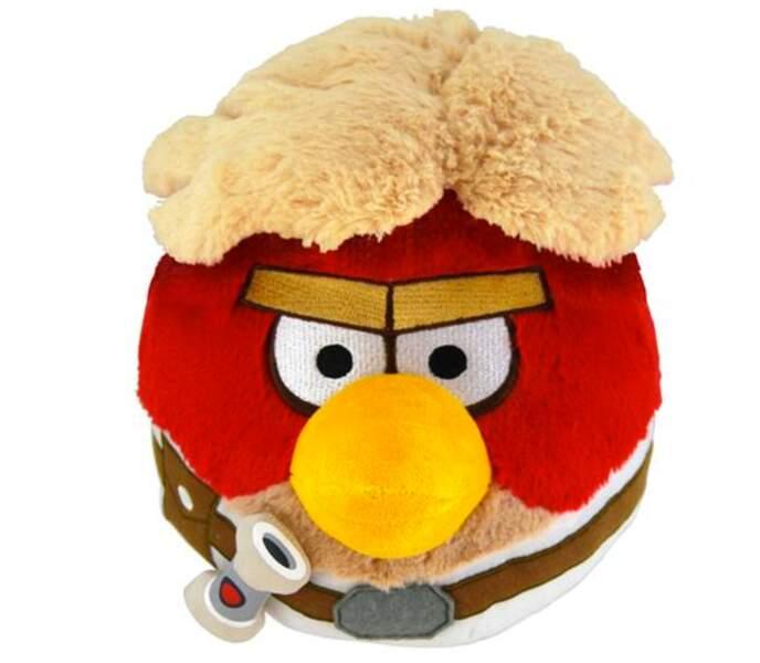 Peluche Angry Birds Star Wars Luke Skywalker