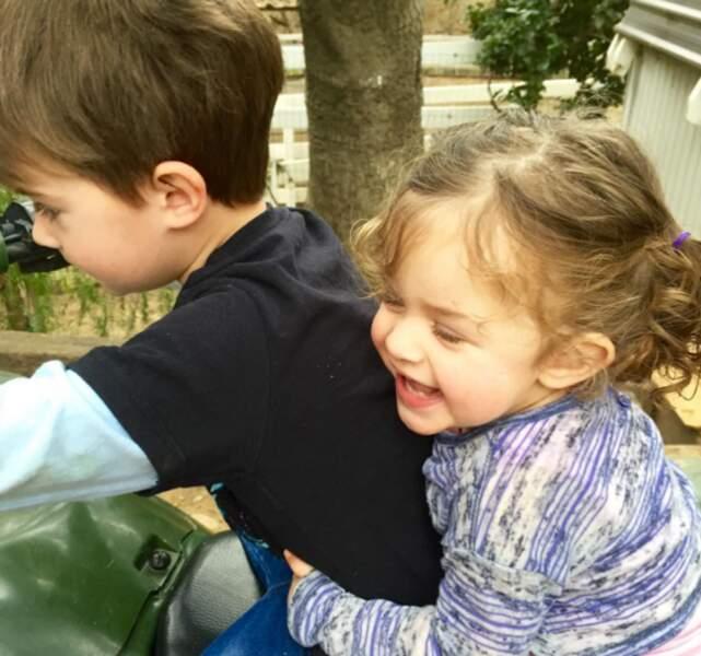 Et Milo et Elizabella, les bouts de chou d'Alyssa Milano !