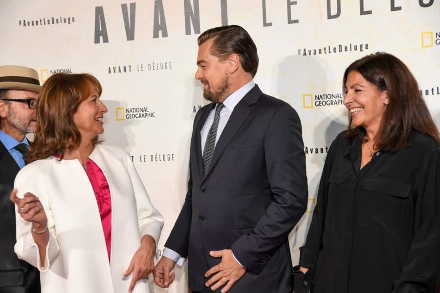 """""""Bah ma foi, bien sûr Mme Royal !"""" lui a répondu DiCaprio"""