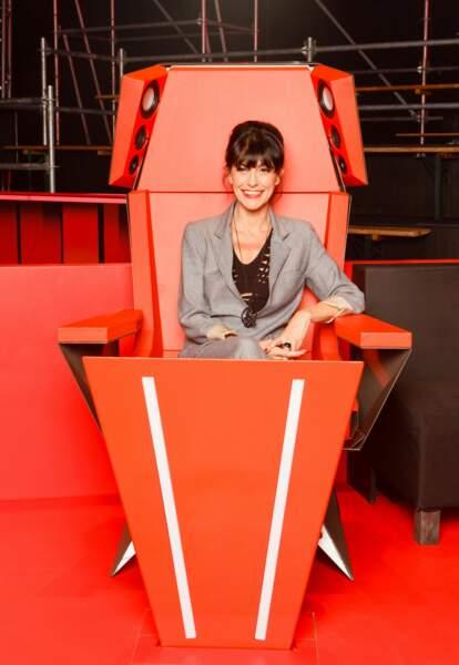 La pétillante Lio, vue sur Nouvelle Star, a aussi été coach pour The Voice Belgique ( une saison)