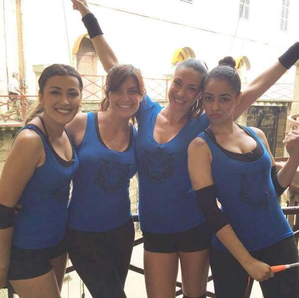Dans la team de Laetitia Milot à Fort-Boyard : Karima Charni, Clio Pajczer et Aurélie Konaté.