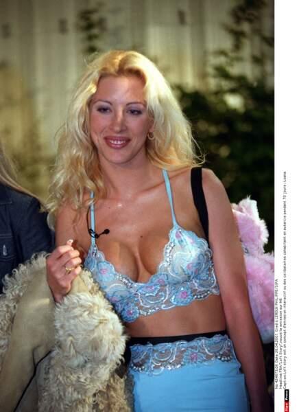 Loana dans Loft Story en 2001