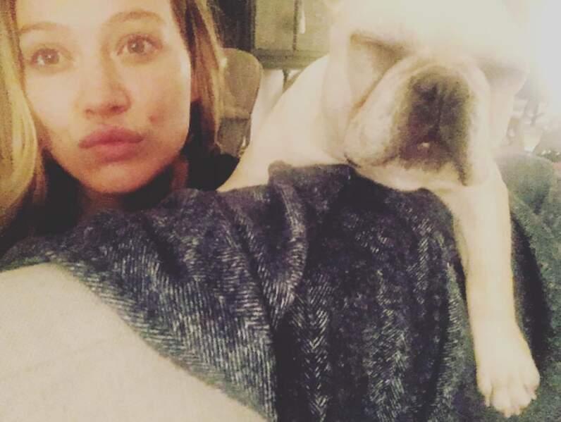 Son chien aussi a droit aux selfies