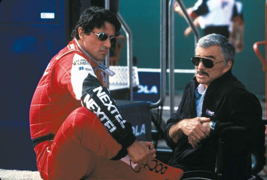 Driven (2001) : Sylvester Stallone et Burt Reynolds