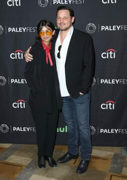 Justin Chambers était accompagné de sa fille Eva