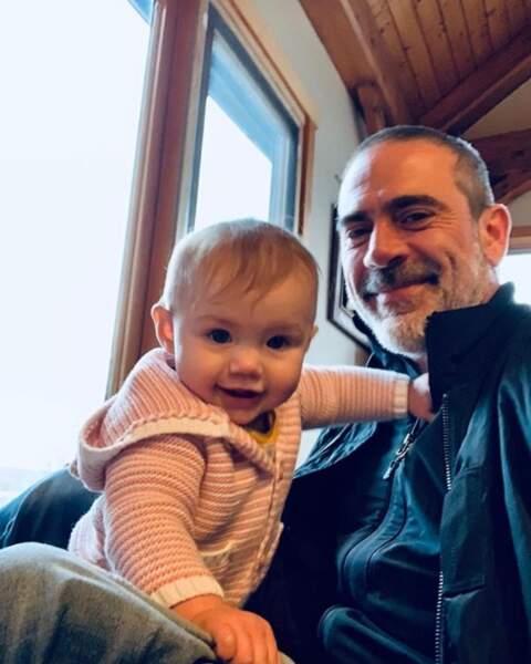 Jeffrey Dean Morgan a le cœur tout mou dès qu'il voit sa plus jeune fille.