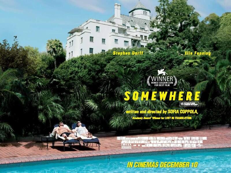 Le célèbre Château Marmont de Los Angeles, décor de rêve de Somewhere de Sofia Coppola (2011)