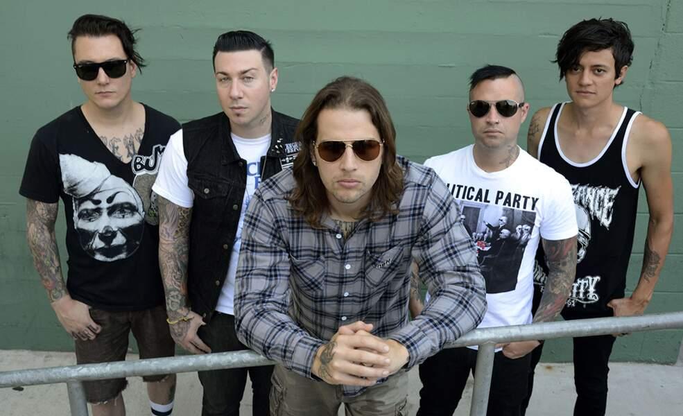 80. Avenged Sevenfold (chanteurs)