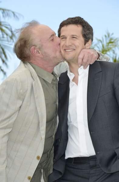Et un bisou pour Guillaume de la part de James Caan ! SMACK !