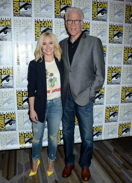 Kristen Bell et Ted Danson sont les héros de la nouvelle série The Good Place