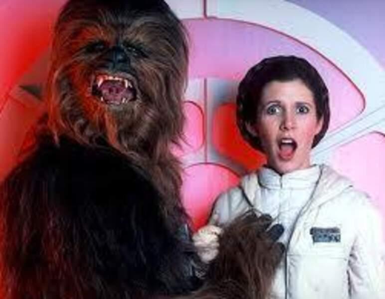Mais que fait Chewbacca ?!