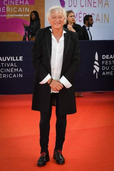 L'animateur Laurent Boyer