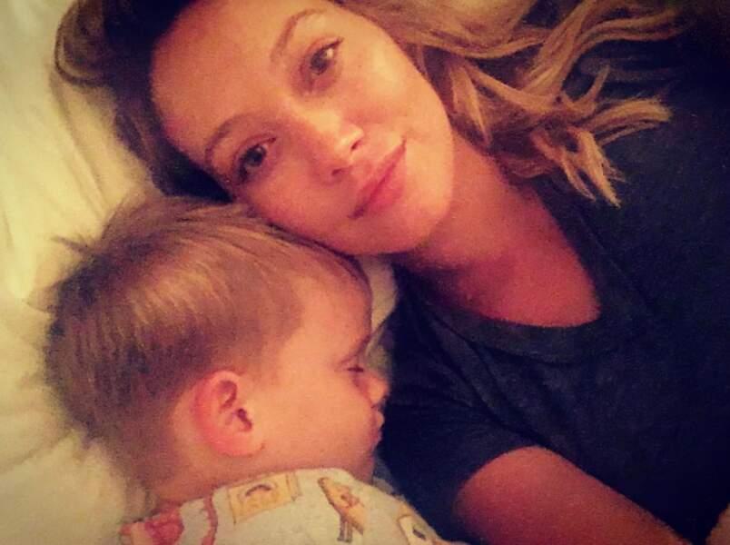 Hilary Duff est une maman solo : son petit Luca est né en 2012