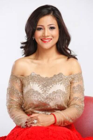 C'est Evana Manandhar qui défend le Népal