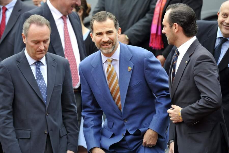 Le prince Felipe de Borbon avait fait le déplacement pour cette finale 100% espagnole.