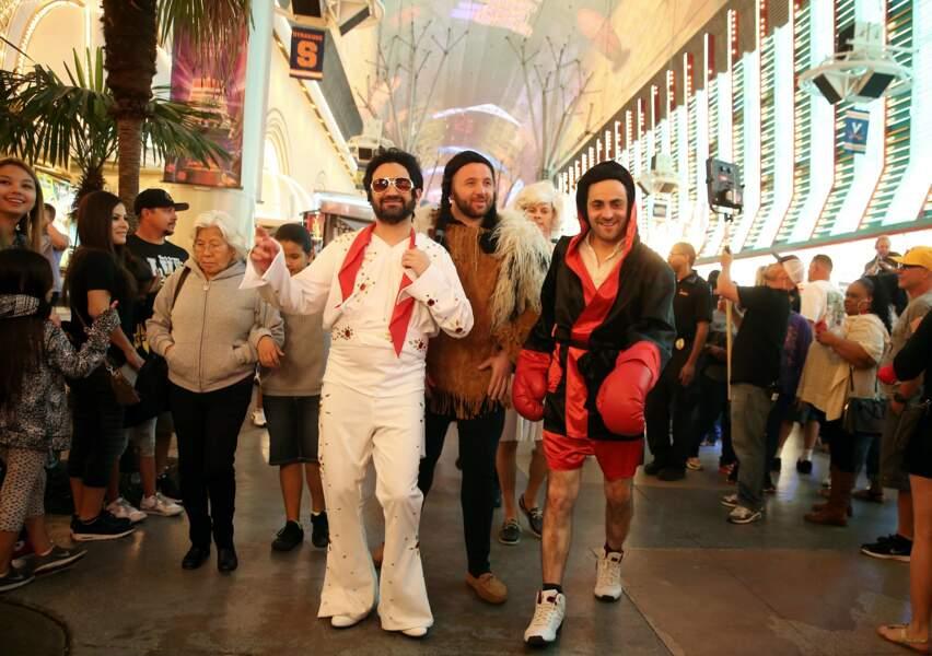 Une chose est sûre, ils n'ont pas manqué d'attirer l'attention dans les rues de Vegas.