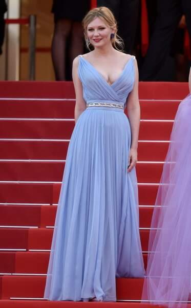 Kirsten Dunst très émue sur ces marches a versé quelques larmes...