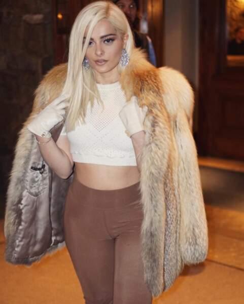 Alerte mode : Bebe Rexha aime les poils.
