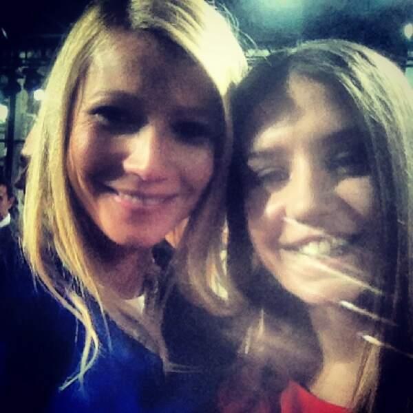 Elle a aussi croisé le chemin de Gwyneth Paltrow...