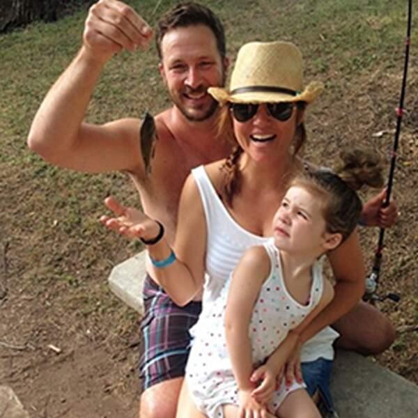 Activité pêche en famille pour la famille Bonheur