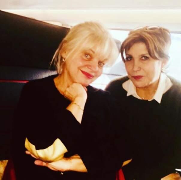 En coulisses, Liane Foly accueille une petite nouvelle, l'actrice Isabelle Nanty...