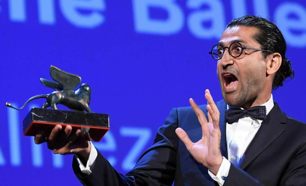 Alireza Khatami fou de joie : son film Les Versets de l'oubli a récolté le prix Orizzonti du meilleur scénario