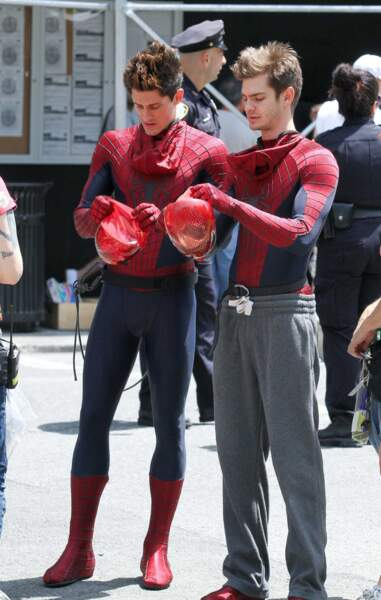 Non Andrew (Garfield), Spider-Man n'a pas de jogging ! Ta doublure l'a bien compris lui