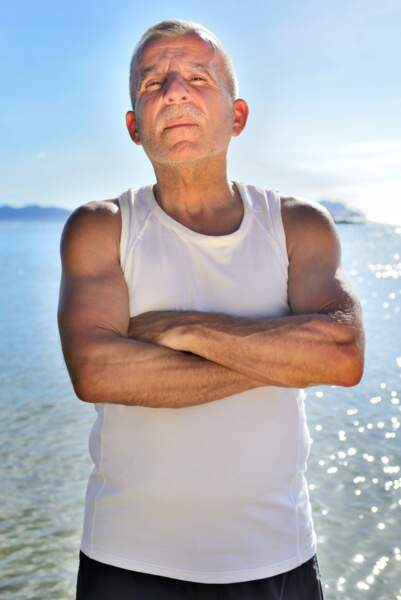 A 55 ans, Pierre est le doyen de Cash Island