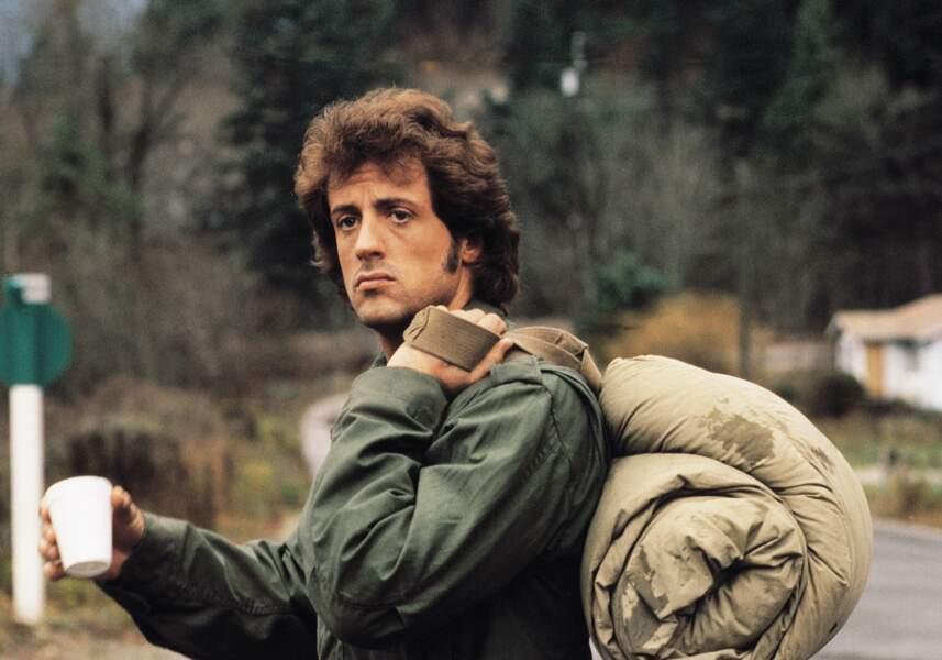 Rambo I (1982) : La coiffure ce n'était pas son fort à Sylvester