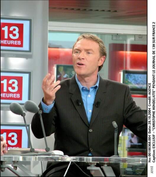"""L'ex-présentateur de """"Faites entrer l'accusé"""", Christophe Hondelatte, a """"gardé la pêche"""" entre 2004 et 2005."""