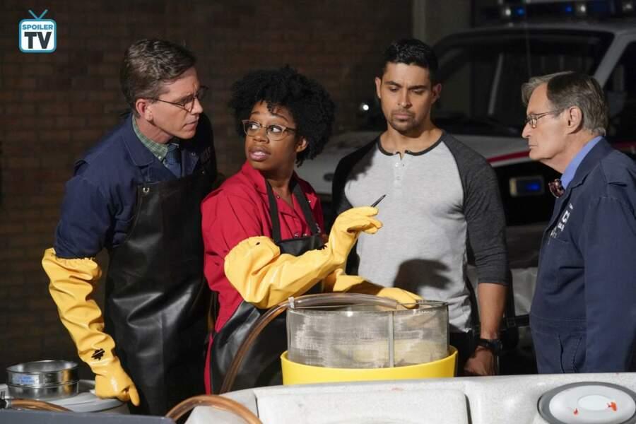 Technicienne au laboratoire du NCIS, Kasie devra relever le défi de remplacer Abby au sein de l'équipe ...