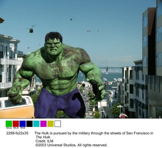 Hulk, le géant qui ne devait pas être vert !