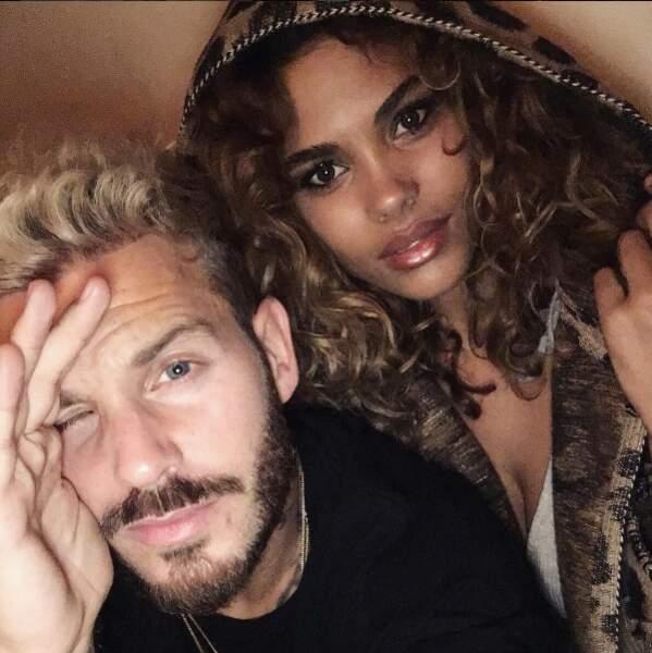 Hormis Vincent, la belle est aussi copine avec un autre frenchie, Matt Pokora
