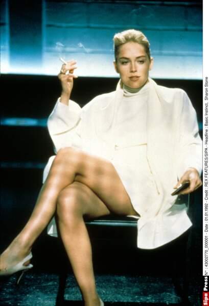 Basic Instinct (1992) : un rôle, et un croisement de jambe, qui l'ont faite star
