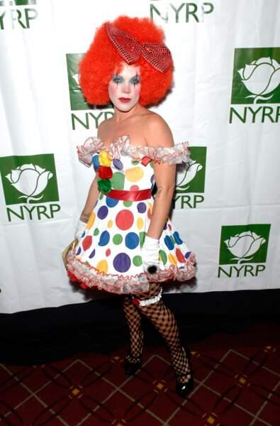 Pour Pink, on suppose que le but était clown sexy.