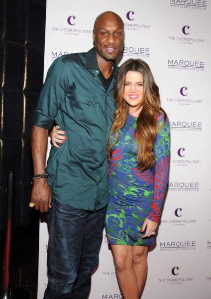 Cette dernière a été mariée à Lamar Odom (ils sont aujourd'hui séparés, mais Lamar apparaît dans le show)