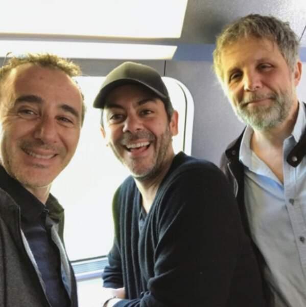 Il y avait du beau monde dans le train d'Elie Semoun.