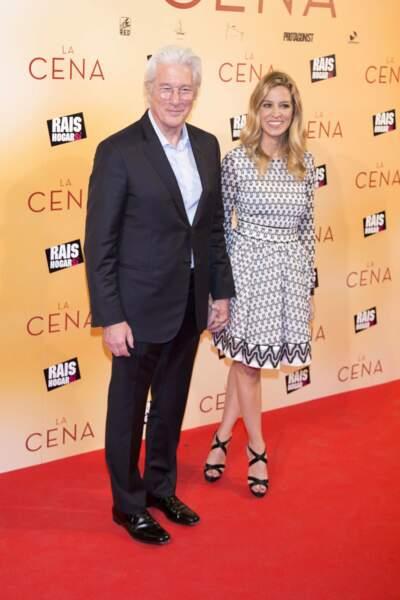 L'acteur Richard Gere et Alejandra Silva sont mariés depuis début avril mais restent discrets sur la date !